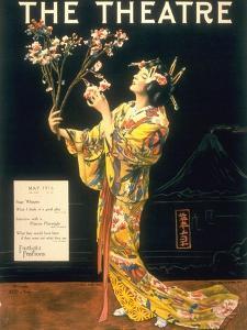 The Theatre, Japanese Geishas, USA, 1920