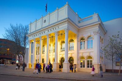The Theatre Royal at Christmas, Nottingham, Nottinghamshire, England, United Kingdom, Europe-Frank Fell-Photographic Print