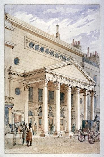 The Theatre Royal, Haymarket, Westminster, London, C1840-James Findlay-Giclee Print