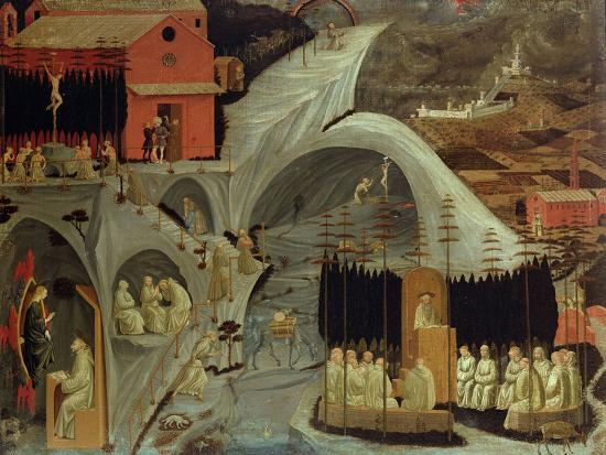 The Thebaid, c.1460-Paolo Uccello-Giclee Print