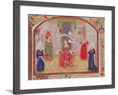 """The Theory of Intellectual Virtues, from """"Ethics, Politics and Economics"""" by Aristotle--Framed Giclee Print"""