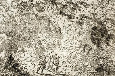 The Thick Forest-Allart van Everdingen-Giclee Print