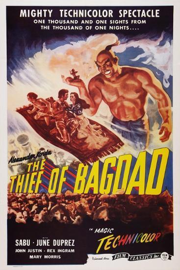 The Thief of Bagdad, Top from Left: Sabu, John Justin, June Duprez, Rex Ingram, 1940--Art Print