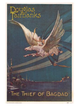 The Thief of Baghdad, 1924--Art Print