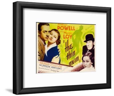 The Thin Man, William Powell, Myrna Loy, 1934