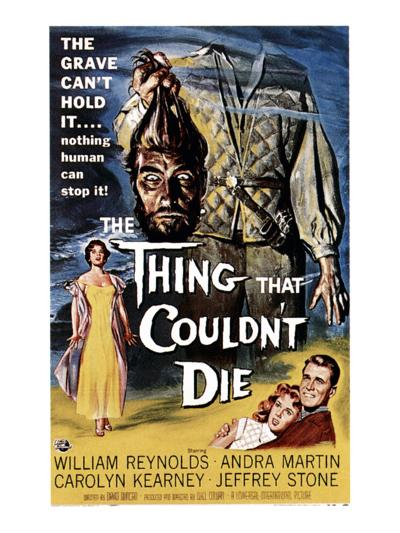 The Thing That Couldn't Die, 1958--Photo