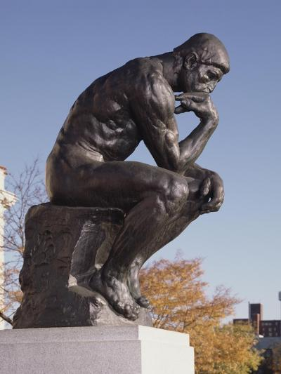The Thinker, 1904 (Bronze)-Auguste Rodin-Giclee Print