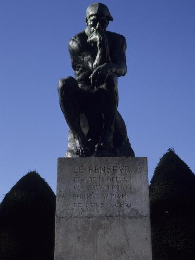 The Thinker by French Sculptor Rodin, Paris, France-Taylor S^ Kennedy-Photographic Print