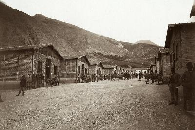 the Third and Fourth Sectors of the Fonte D'Amore Camp in Sulmona, Province of L'Aquila--Photographic Print