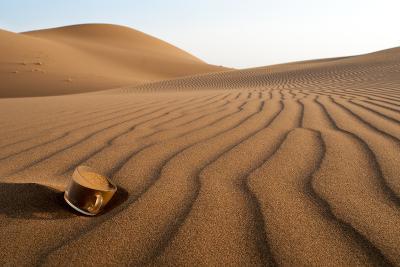 The Thirsty Desert.-Soheil Soheily-Photographic Print