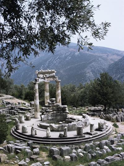 The Tholos, Delphi, Unesco World Heritage Site, Greece-Christina Gascoigne-Photographic Print