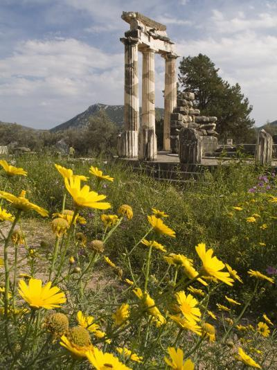 The Tholos Temple in the Sanctuary of Athena Pronaia And-Richard Nowitz-Photographic Print
