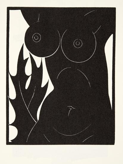 The Thorn in the Flesh, 1921-Eric Gill-Giclee Print