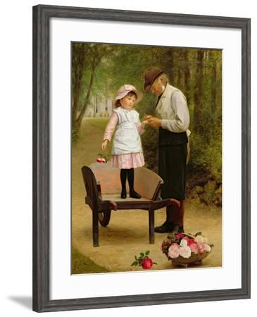 The Thorn-James Hayllar-Framed Giclee Print