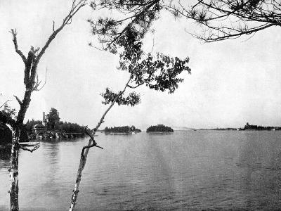 The Thousand Islands, St Lawrence River, Canada, 1893-John L Stoddard-Giclee Print