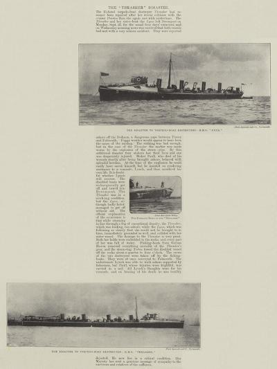 The Thrasher Disaster--Giclee Print
