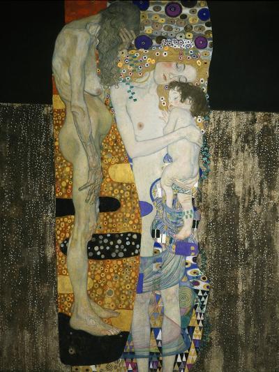 The Three Ages of Woman, 1905-Gustav Klimt-Giclee Print