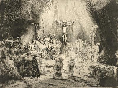 The Three Crosses, 1653-Rembrandt van Rijn-Giclee Print