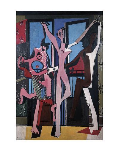 The Three Dancers, 1925-Pablo Picasso-Art Print