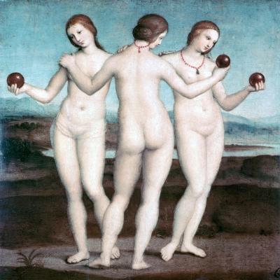 The Three Graces, 1504-1505-Raphael-Giclee Print