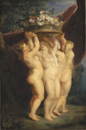 The Three Graces, 1620-1625-Peter Paul Rubens-Giclee Print