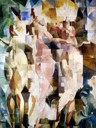 The Three Graces, 1912-Robert Delaunay-Giclee Print