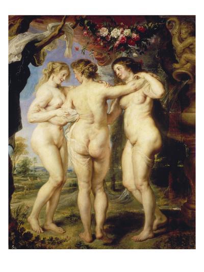 The Three Graces-Peter Paul Rubens-Giclee Print