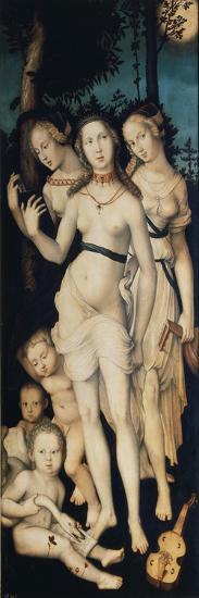 The Three Graces-Hans Baldung-Giclee Print