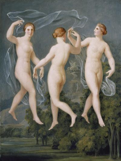 The Three Graces-Johann Heinrich Wilhelm Tischbein-Giclee Print