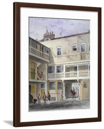 The Three Kings Inn on Piccadilly, Westminster, London, 1856-Thomas Hosmer Shepherd-Framed Giclee Print