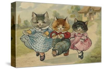 The Three Little Kittens Who Lost their Mittens' Dance Together Down a Country Lane
