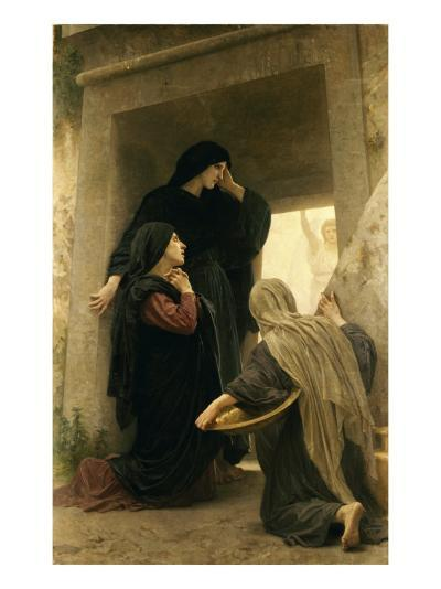 The Three Marys at the Tomb-William Adolphe Bouguereau-Giclee Print
