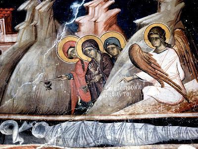 The Three Marys at the Tomb--Giclee Print