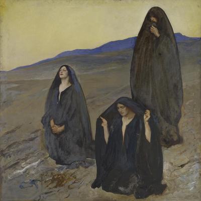 The Three Marys, c.1905-10-Edwin Austin Abbey-Giclee Print