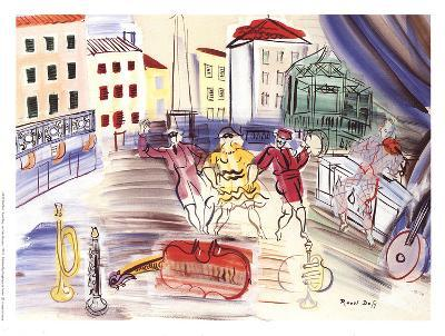 The Three Masks-Raoul Dufy-Collectable Print