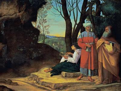 The Three Philosophers-Giorgione da Castelfranco-Giclee Print