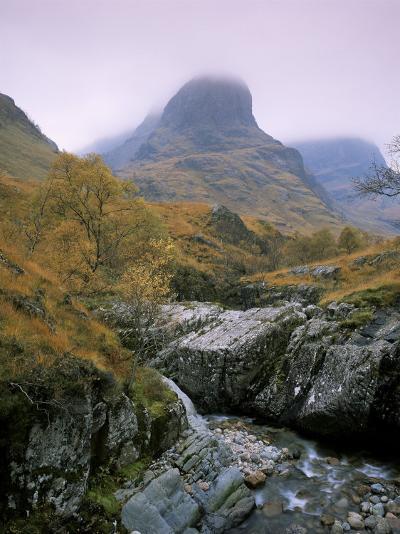 The Three Sisters, Glencoe, Highland Region, Scotland, United Kingdom-Roy Rainford-Photographic Print