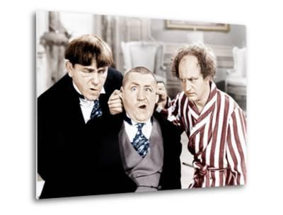 The Three Stooges, from left: Moe Howard, Curly Howard, Larry Fine, ca. 1940s