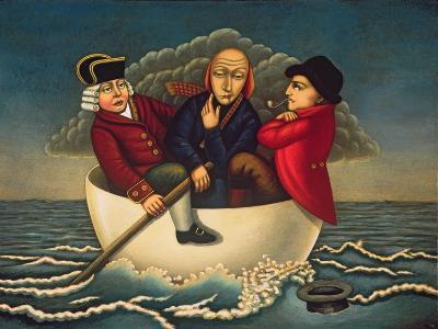 The Three Wise Men of Gotham, 2005-Frances Broomfield-Giclee Print