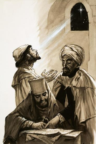 The Three Wise Men--Giclee Print