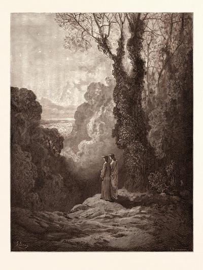 The Threshold of Purgatory-Gustave Dore-Giclee Print