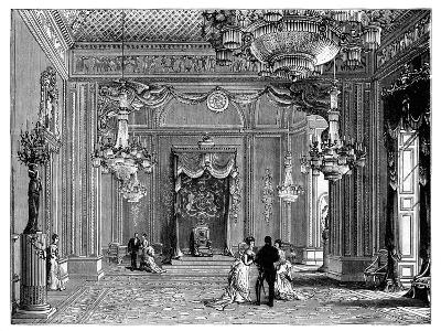 The Throne Room, Buckingham Palace, 1900--Giclee Print
