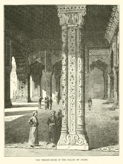 The Throne-Room in the Palace of Delhi--Giclee Print