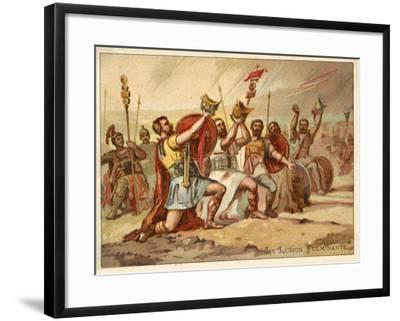 The Thundering Legion--Framed Giclee Print