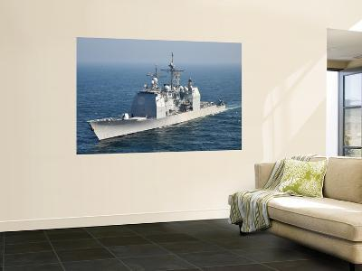 The Ticonderoga-Class Guided-Missile Cruiser Uss Shiloh-Stocktrek Images-Wall Mural
