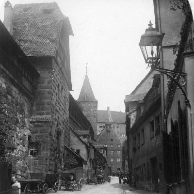 The Tiergartnertor, Nuremberg, Germany, C1900s-Wurthle & Sons-Photographic Print