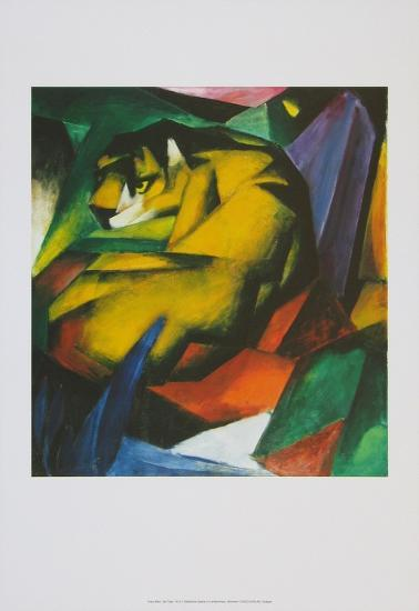 The Tiger , 1912-Franz Marc-Art Print