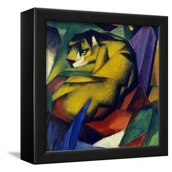 The Tiger, 1912-Franz Marc-Framed Premier Image Canvas