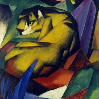 The Tiger, 1912-Franz Marc-Giclee Print