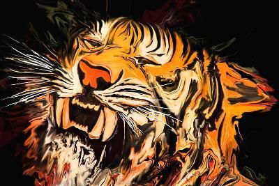 The Tiger-Rabi Khan-Art Print